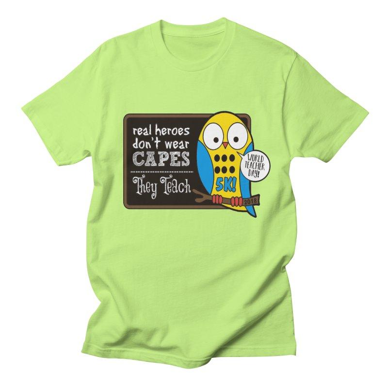 World Teacher Day 5K Women's Unisex T-Shirt by moonjoggers's Artist Shop
