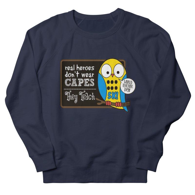 World Teacher Day 5K Men's Sweatshirt by moonjoggers's Artist Shop