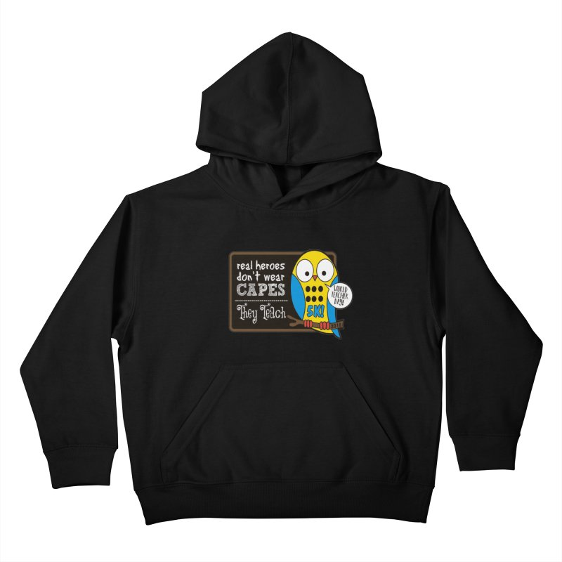 World Teacher Day 5K Kids Pullover Hoody by moonjoggers's Artist Shop