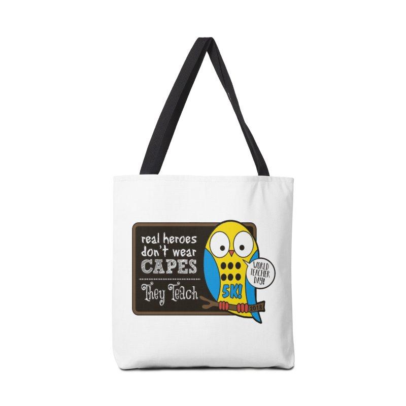 World Teacher Day 5K Accessories Bag by moonjoggers's Artist Shop