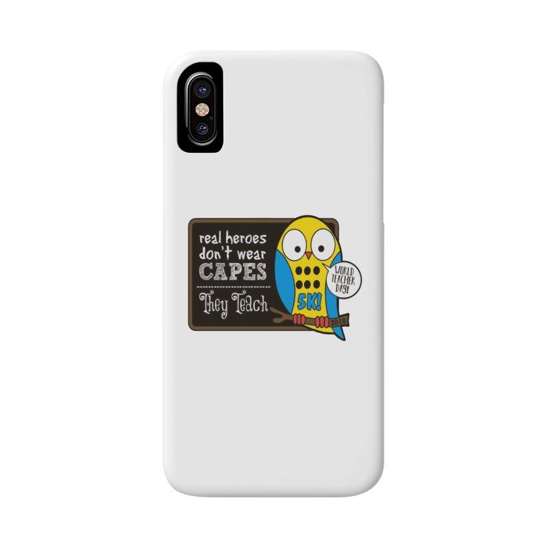 World Teacher Day 5K Accessories Phone Case by moonjoggers's Artist Shop