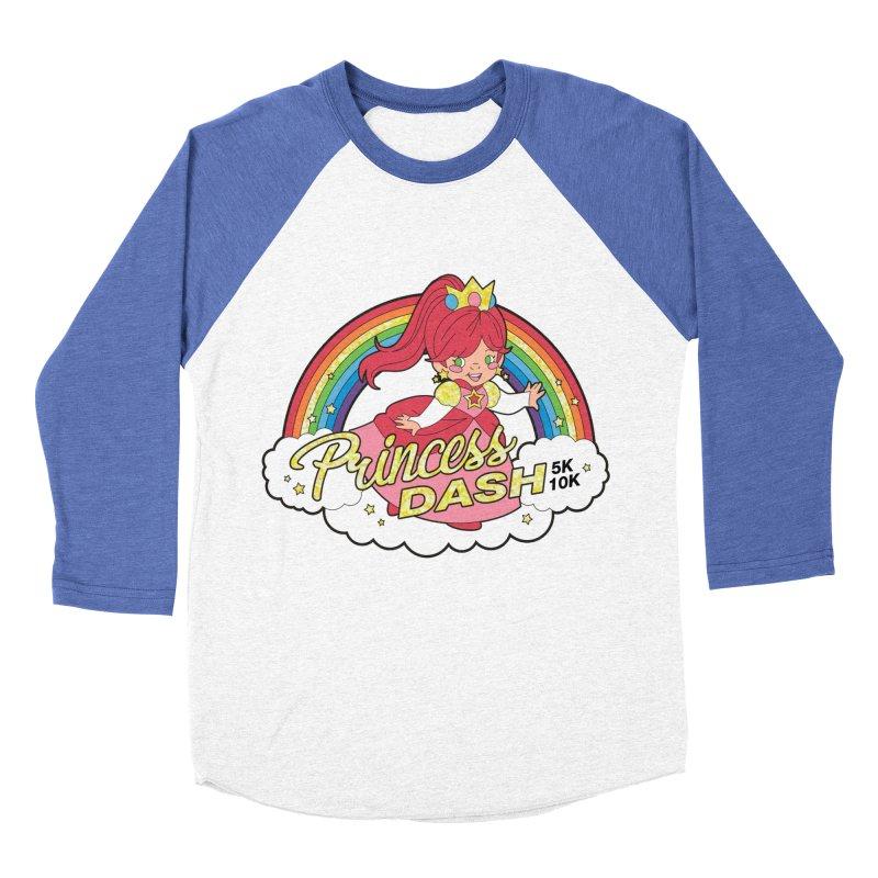 Princess Dash 5K & 10K Women's Baseball Triblend T-Shirt by moonjoggers's Artist Shop