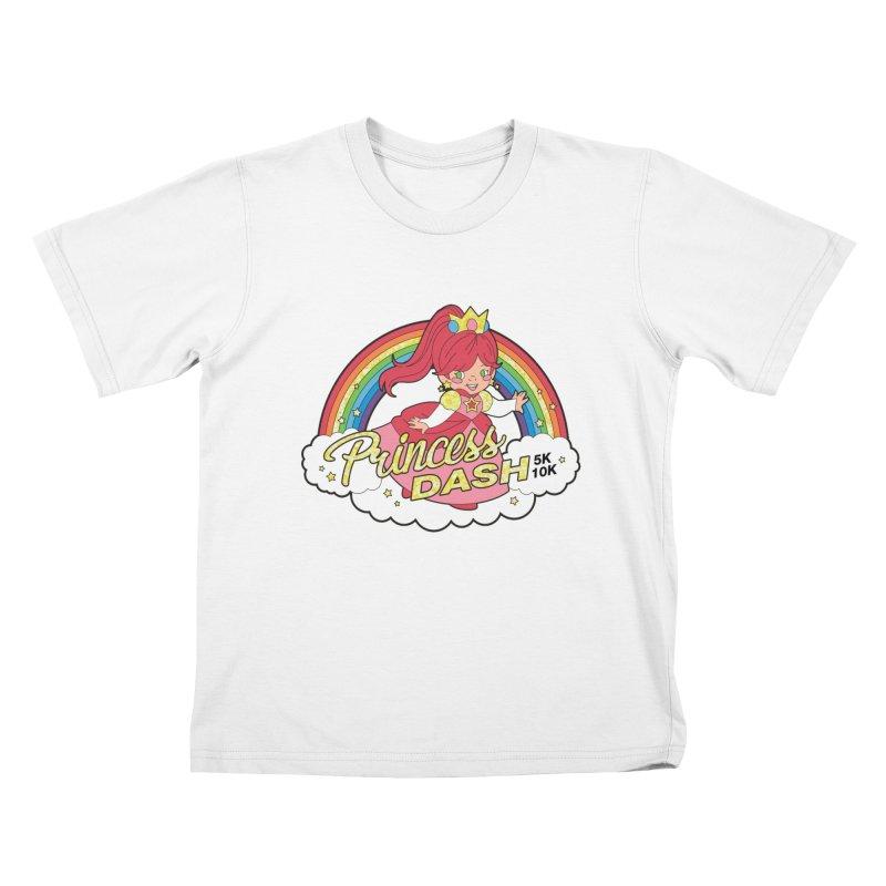 Princess Dash 5K & 10K Kids T-Shirt by moonjoggers's Artist Shop