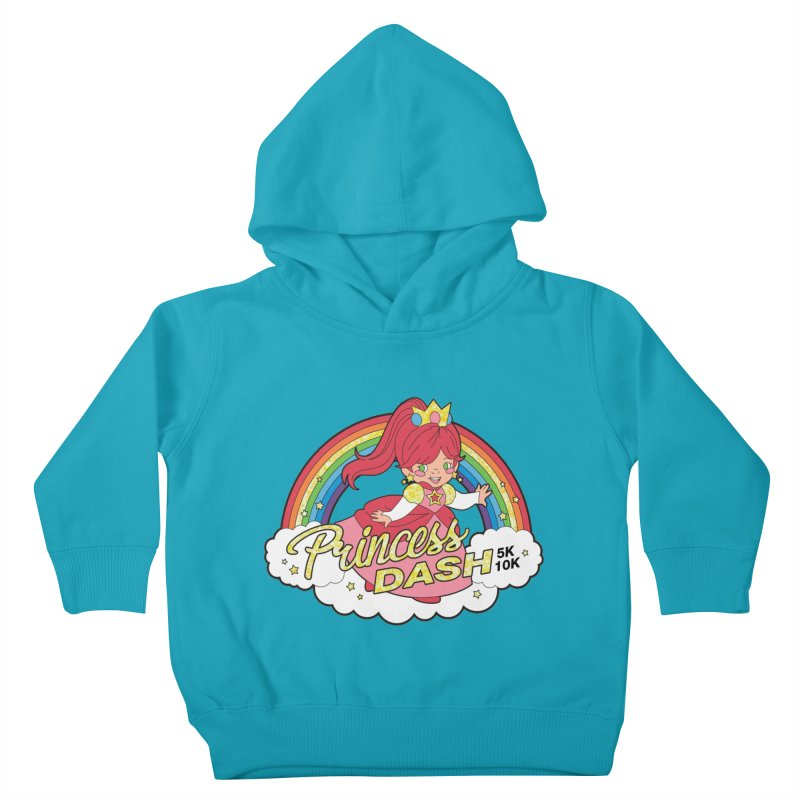 Princess Dash 5K & 10K Kids Toddler Pullover Hoody by moonjoggers's Artist Shop