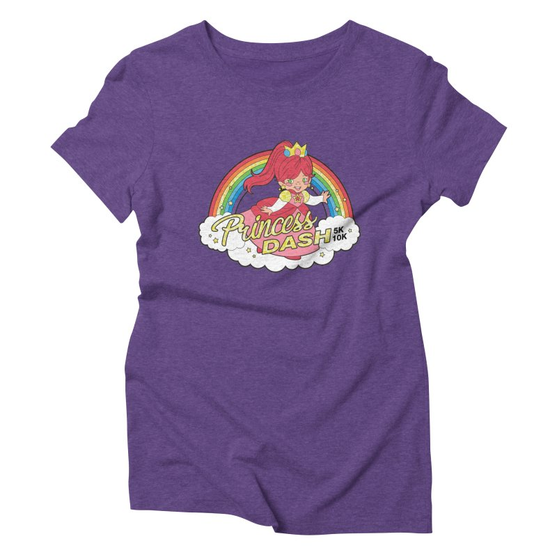 Princess Dash 5K & 10K Women's Triblend T-Shirt by moonjoggers's Artist Shop
