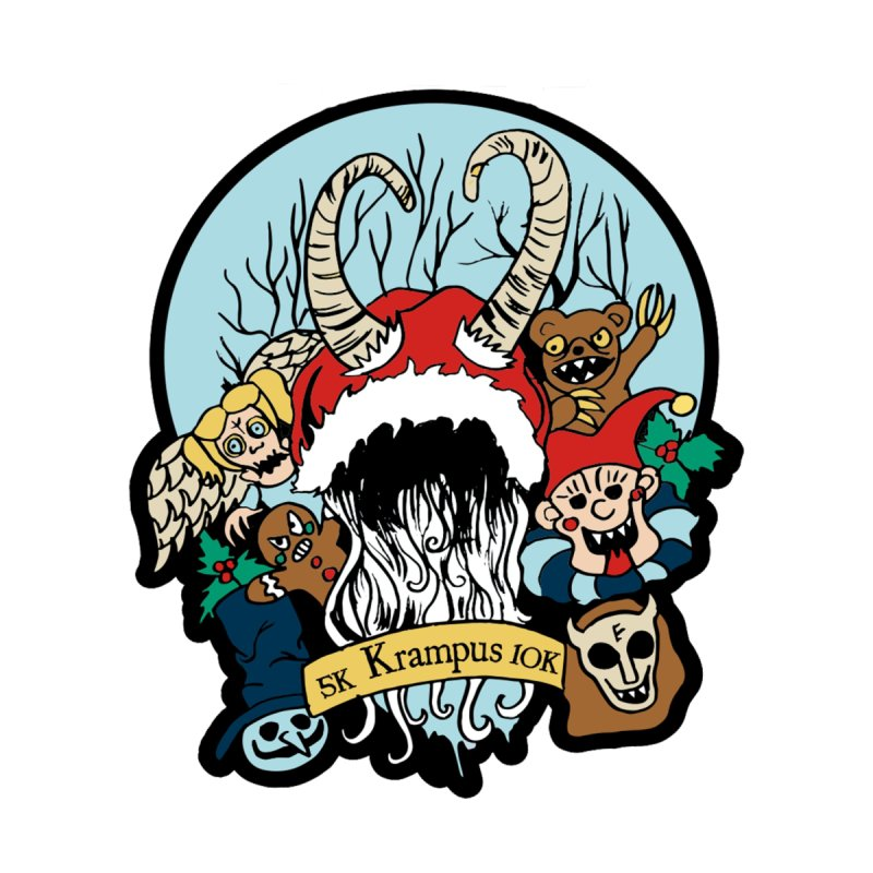 Krampus 5K & 10K   by moonjoggers's Artist Shop