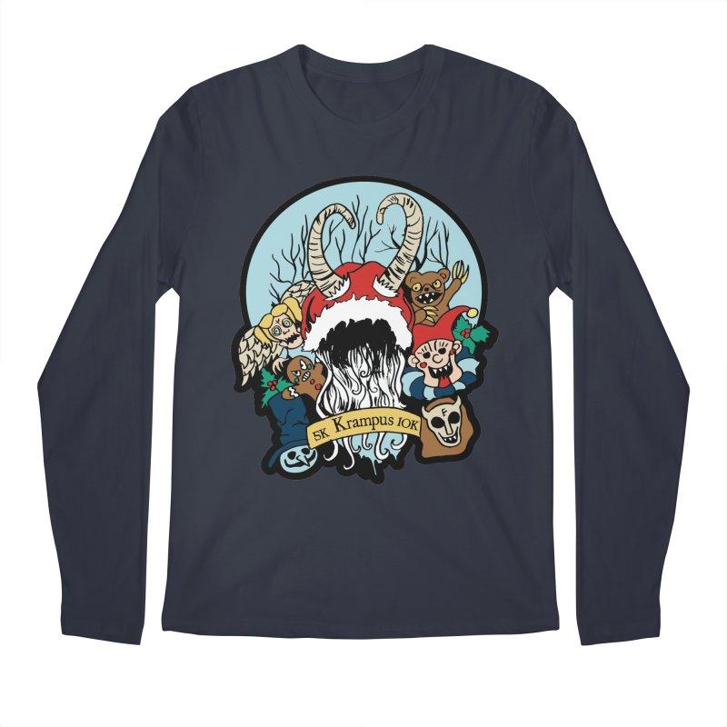 Krampus 5K & 10K Men's Longsleeve T-Shirt by moonjoggers's Artist Shop