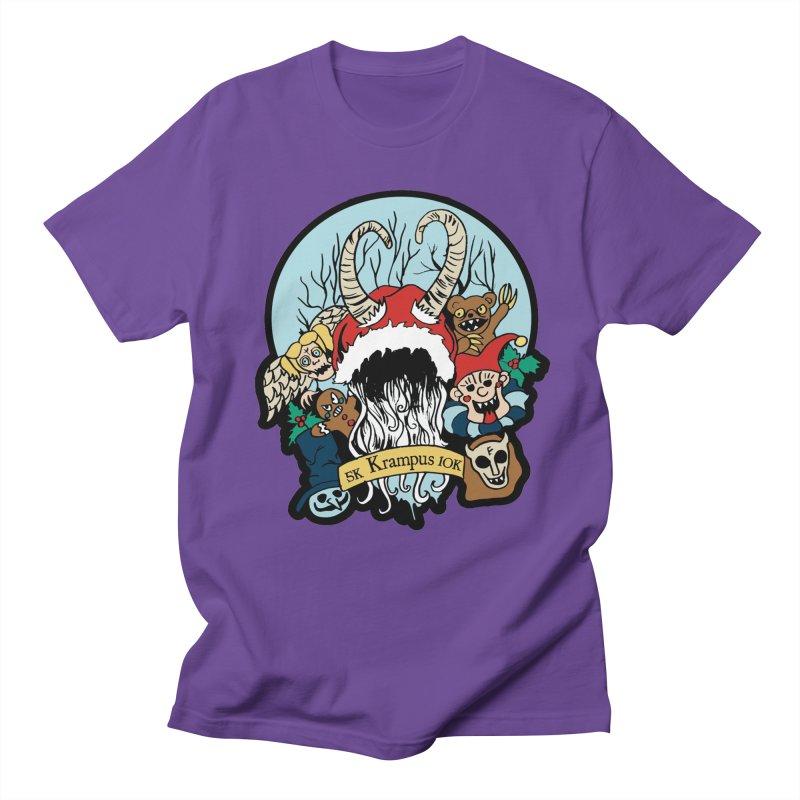 Krampus 5K & 10K Men's T-Shirt by moonjoggers's Artist Shop