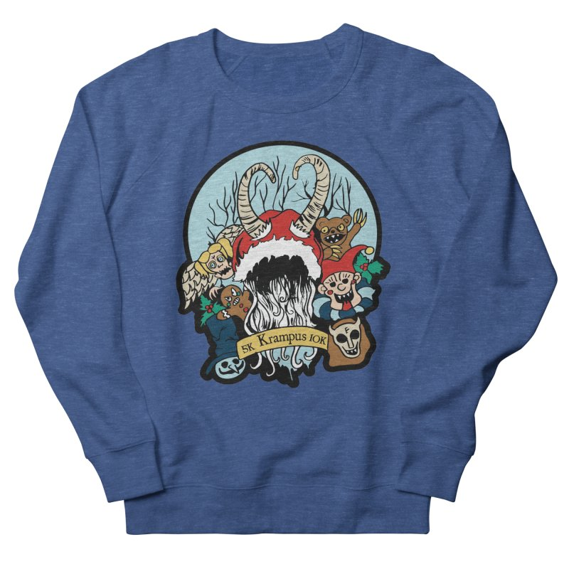 Krampus 5K & 10K Men's Sweatshirt by moonjoggers's Artist Shop