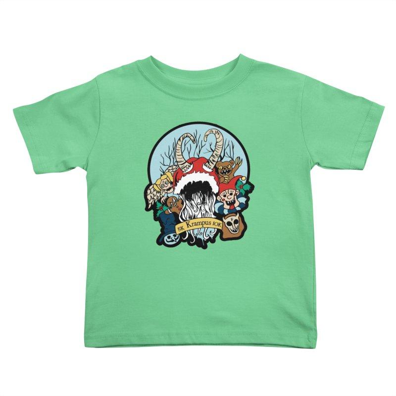 Krampus 5K & 10K Kids Toddler T-Shirt by moonjoggers's Artist Shop