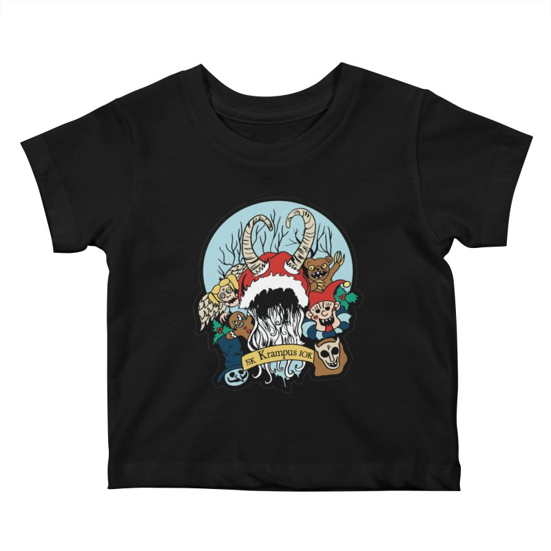 Krampus 5K & 10K Kids Baby T-Shirt by moonjoggers's Artist Shop