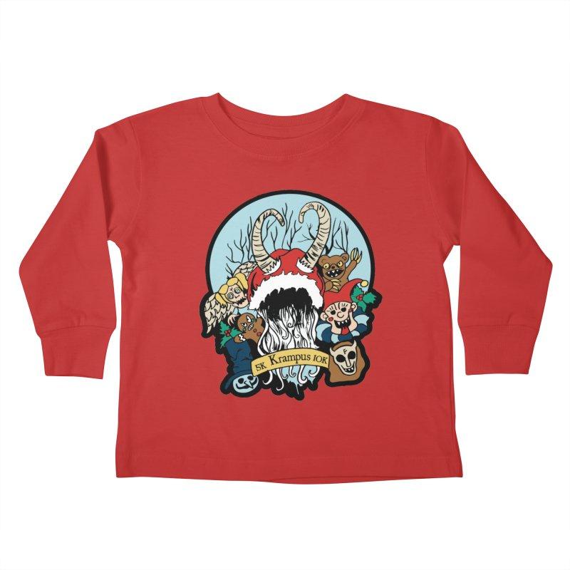 Krampus 5K & 10K Kids Toddler Longsleeve T-Shirt by moonjoggers's Artist Shop
