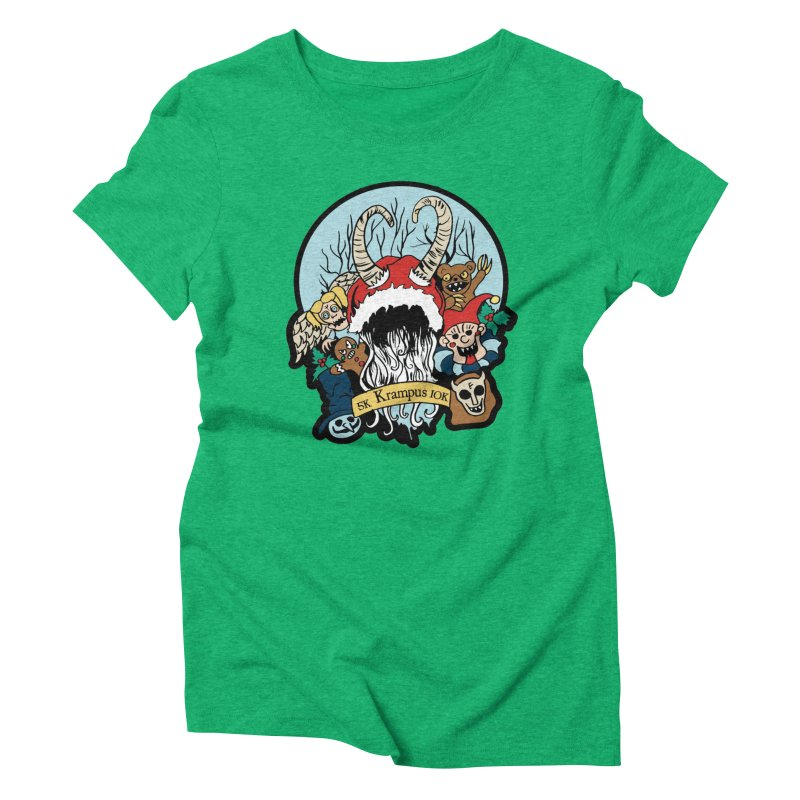 Krampus 5K & 10K Women's Triblend T-Shirt by moonjoggers's Artist Shop