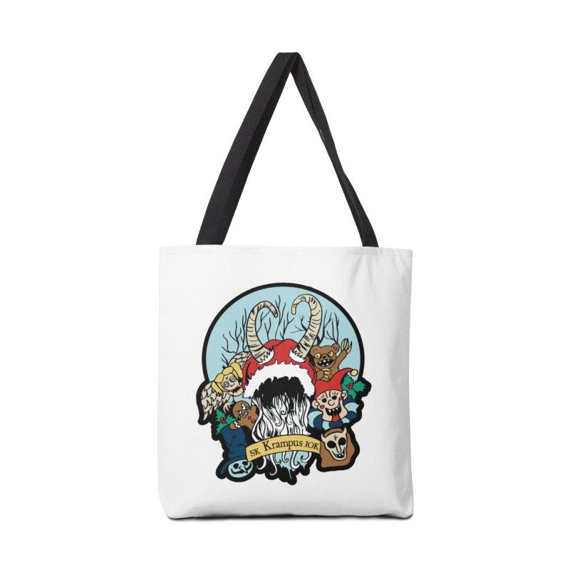 Krampus 5K & 10K Accessories Bag by moonjoggers's Artist Shop