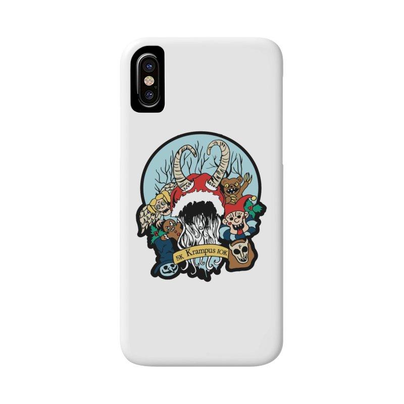 Krampus 5K & 10K Accessories Phone Case by moonjoggers's Artist Shop