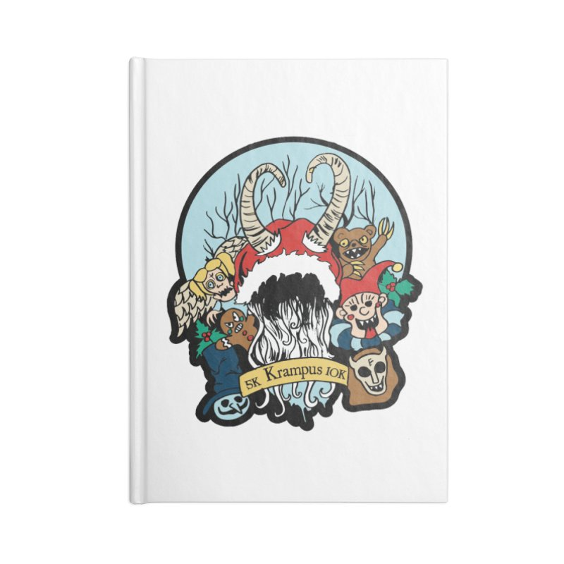Krampus 5K & 10K Accessories Notebook by moonjoggers's Artist Shop