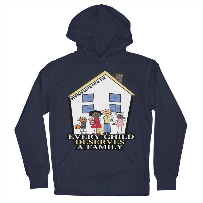 Foster Love 5K & 10K for Foster Care Awareness Men's Pullover Hoody by moonjoggers's Artist Shop