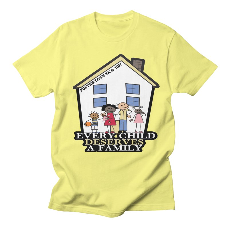 Foster Love 5K & 10K for Foster Care Awareness Women's Unisex T-Shirt by moonjoggers's Artist Shop
