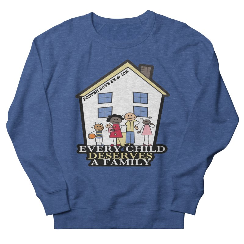 Foster Love 5K & 10K for Foster Care Awareness Women's Sweatshirt by moonjoggers's Artist Shop