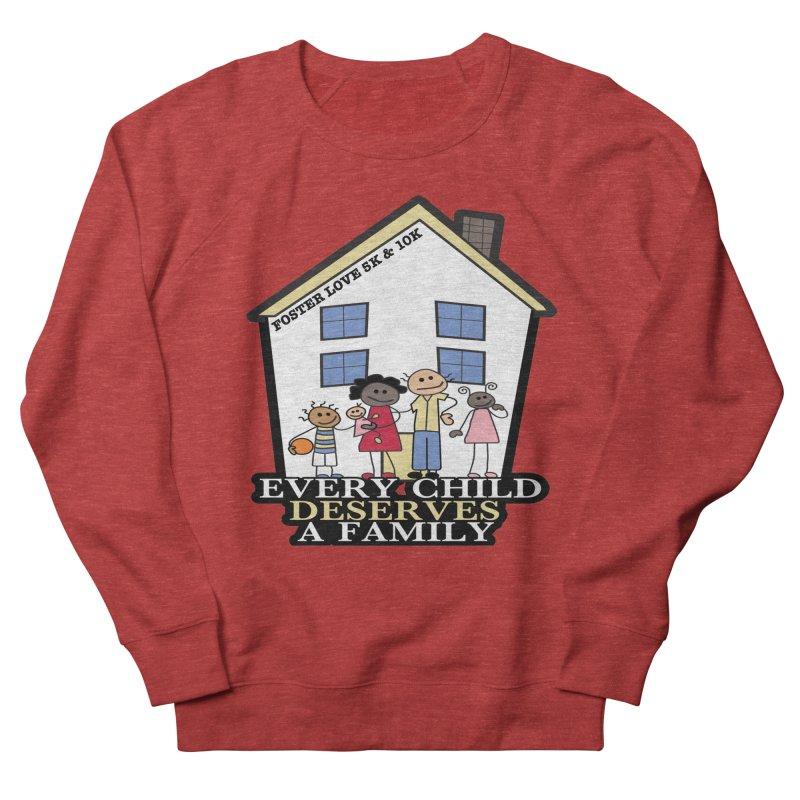 Foster Love 5K & 10K for Foster Care Awareness Men's Sweatshirt by moonjoggers's Artist Shop
