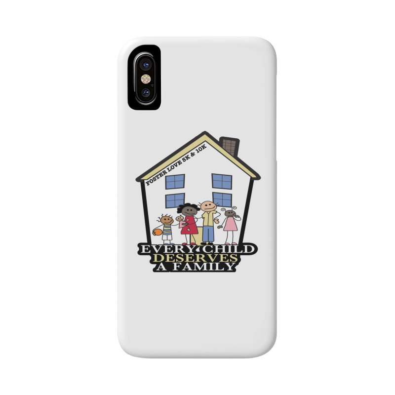 Foster Love 5K & 10K for Foster Care Awareness Accessories Phone Case by moonjoggers's Artist Shop