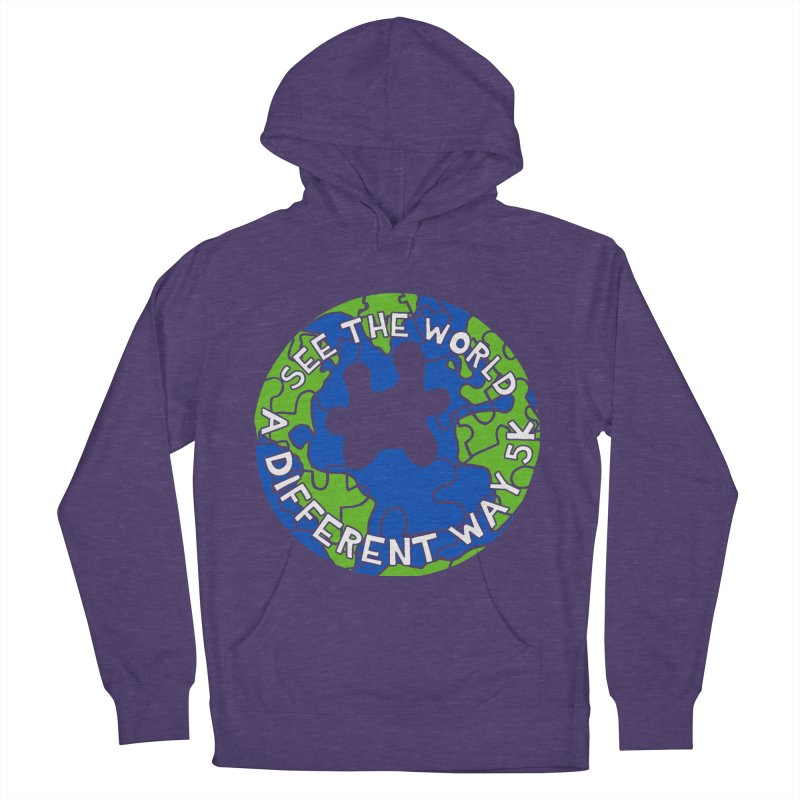 See The World A Different Way 5K Women's Pullover Hoody by moonjoggers's Artist Shop