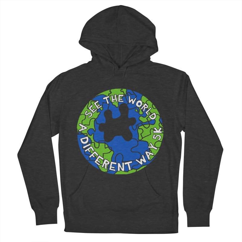 See The World A Different Way 5K Men's Pullover Hoody by moonjoggers's Artist Shop