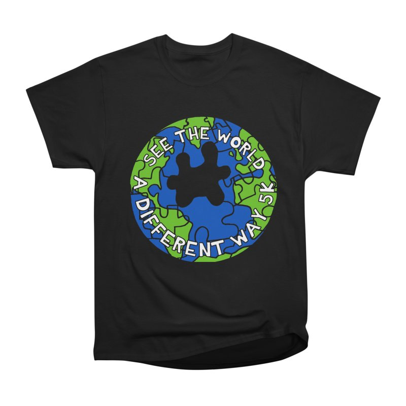 See The World A Different Way 5K Men's Classic T-Shirt by moonjoggers's Artist Shop