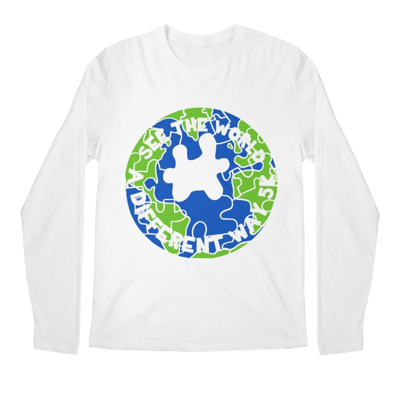 See The World A Different Way 5K Men's Longsleeve T-Shirt by moonjoggers's Artist Shop