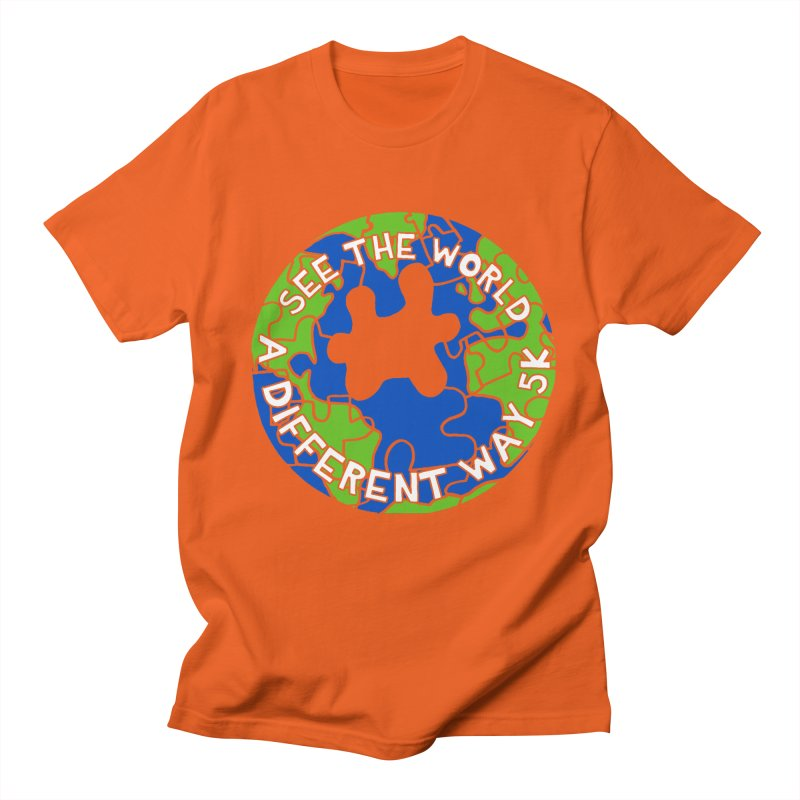 See The World A Different Way 5K Women's Unisex T-Shirt by moonjoggers's Artist Shop