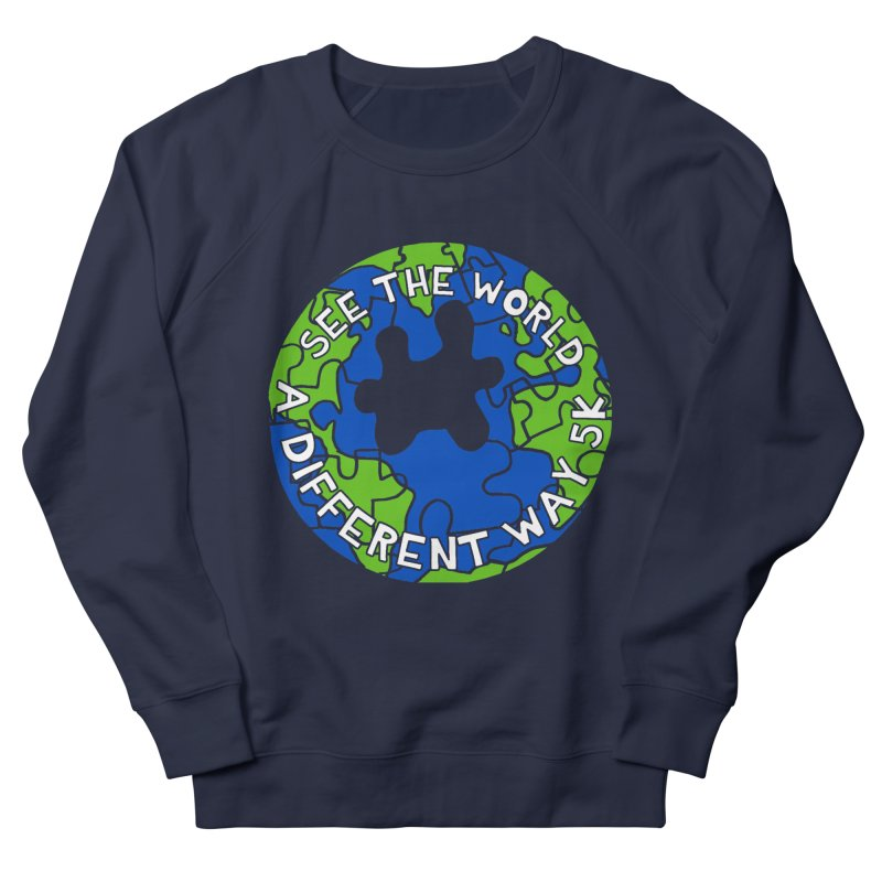 See The World A Different Way 5K Women's Sweatshirt by moonjoggers's Artist Shop
