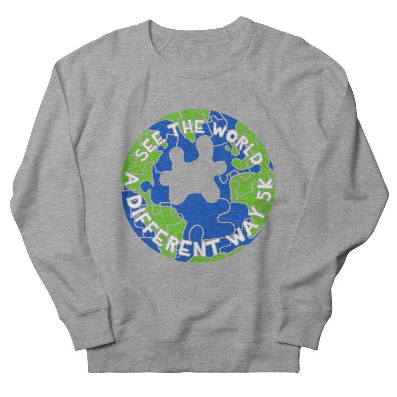 See The World A Different Way 5K Men's Sweatshirt by moonjoggers's Artist Shop