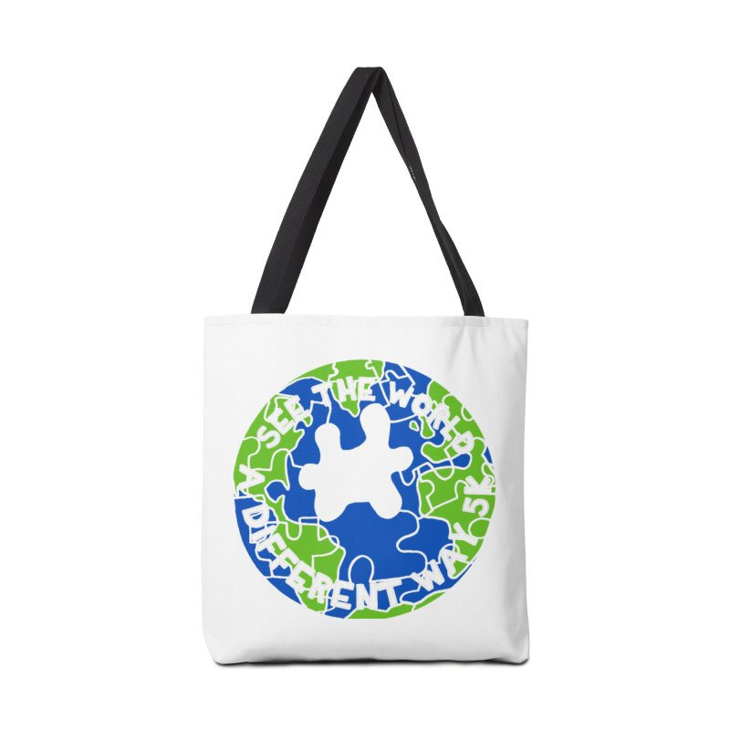 See The World A Different Way 5K Accessories Bag by moonjoggers's Artist Shop