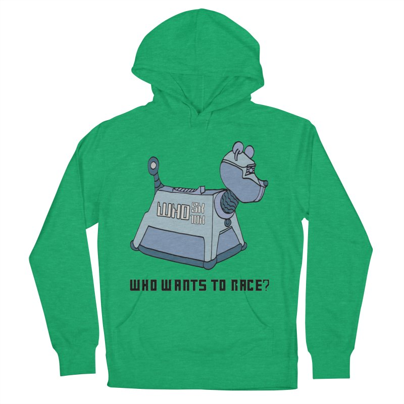WHO Wants to Race 5K & 10K Men's Pullover Hoody by moonjoggers's Artist Shop