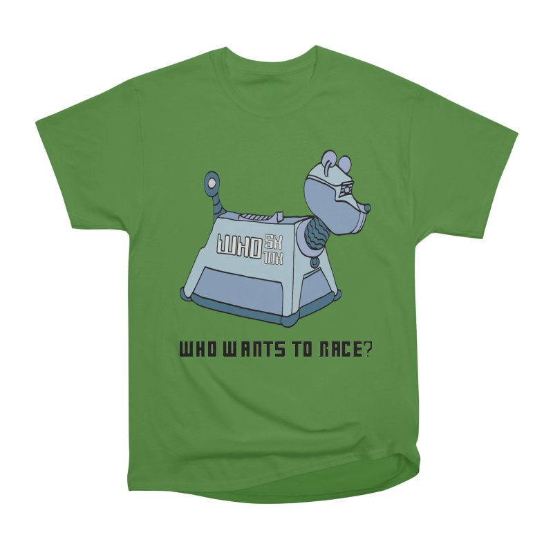 WHO Wants to Race 5K & 10K Men's Classic T-Shirt by moonjoggers's Artist Shop