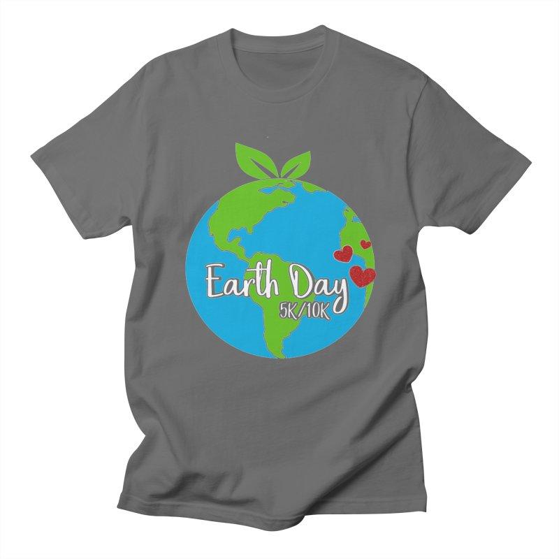 Earth Day 5K & 10K Men's T-Shirt by moonjoggers's Artist Shop