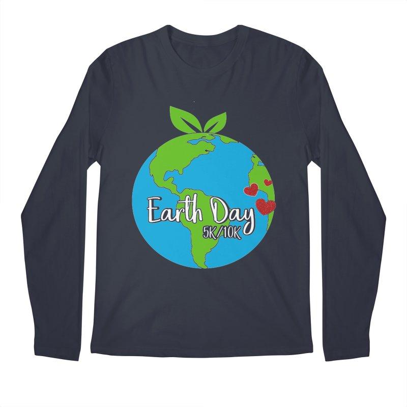 Earth Day 5K & 10K Men's Longsleeve T-Shirt by moonjoggers's Artist Shop