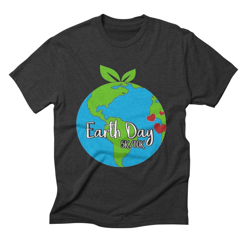 Earth Day 5K & 10K Men's Triblend T-Shirt by moonjoggers's Artist Shop