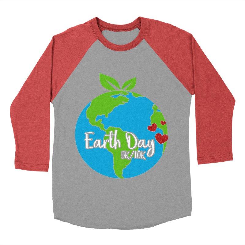 Earth Day 5K & 10K Women's Baseball Triblend T-Shirt by moonjoggers's Artist Shop