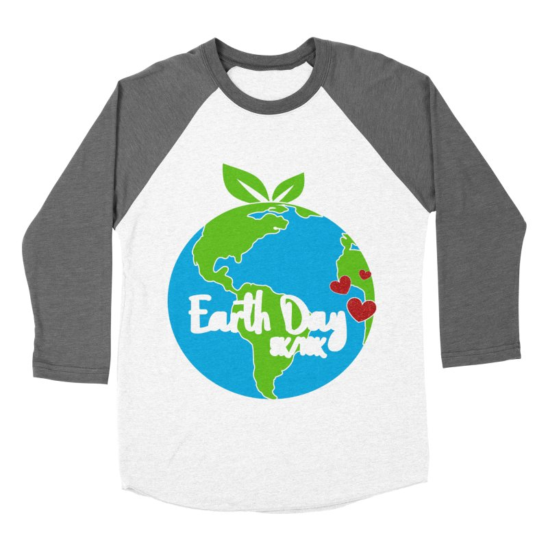 Earth Day 5K & 10K Men's Baseball Triblend T-Shirt by moonjoggers's Artist Shop
