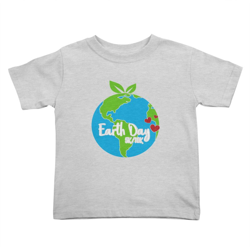 Earth Day 5K & 10K Kids Toddler T-Shirt by moonjoggers's Artist Shop