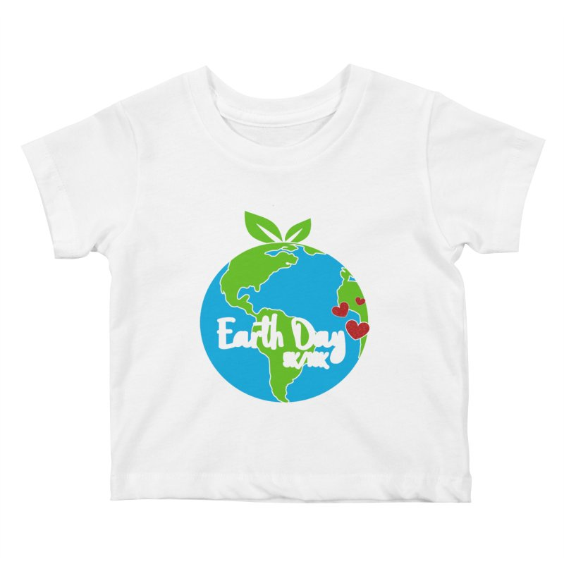 Earth Day 5K & 10K Kids Baby T-Shirt by moonjoggers's Artist Shop