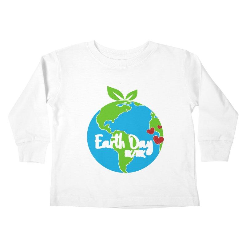 Earth Day 5K & 10K Kids Toddler Longsleeve T-Shirt by moonjoggers's Artist Shop