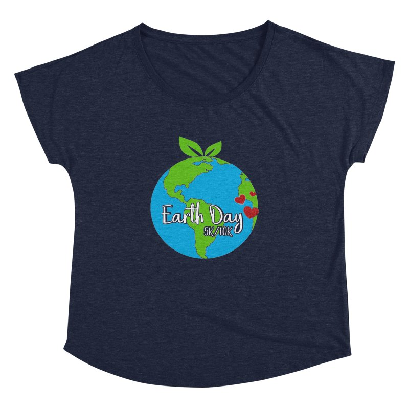Earth Day 5K & 10K Women's Dolman by moonjoggers's Artist Shop