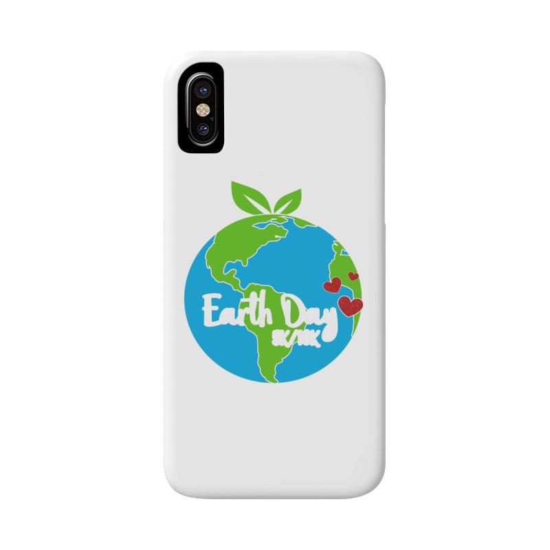 Earth Day 5K & 10K Accessories Phone Case by moonjoggers's Artist Shop
