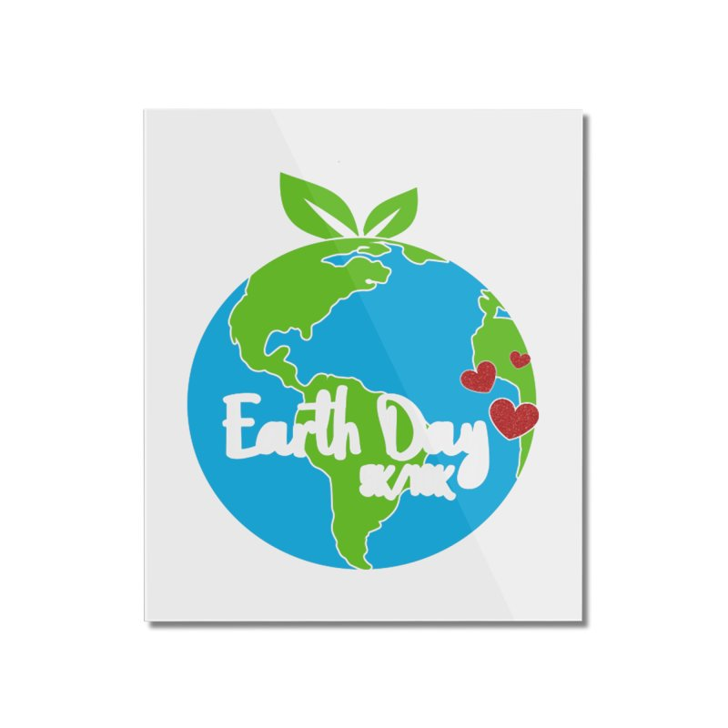 Earth Day 5K & 10K Home Mounted Acrylic Print by moonjoggers's Artist Shop