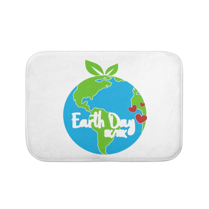 Earth Day 5K & 10K Home Bath Mat by moonjoggers's Artist Shop