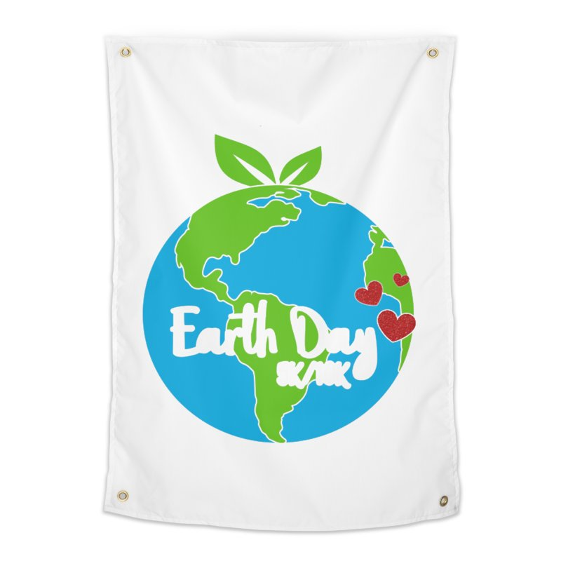Earth Day 5K & 10K Home Tapestry by moonjoggers's Artist Shop
