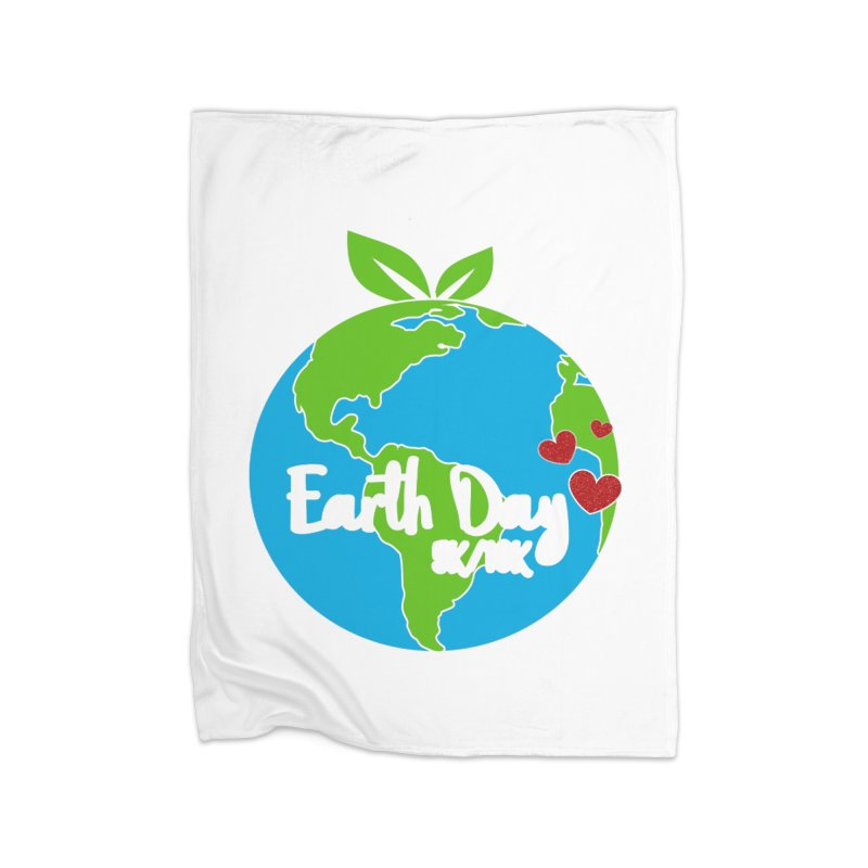 Earth Day 5K & 10K Home Blanket by moonjoggers's Artist Shop