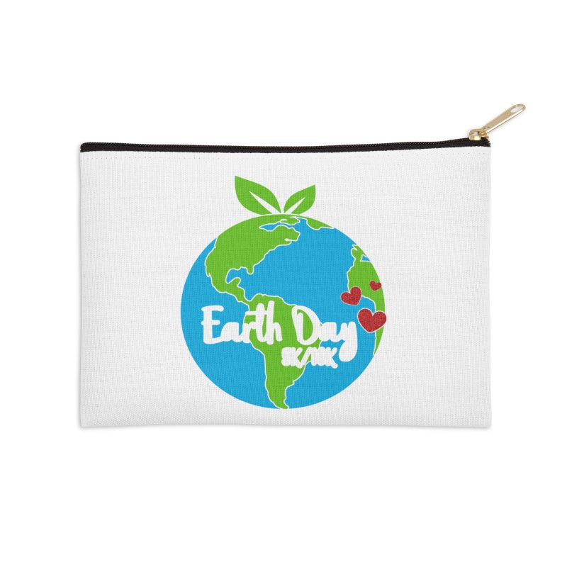 Earth Day 5K & 10K Accessories Zip Pouch by moonjoggers's Artist Shop